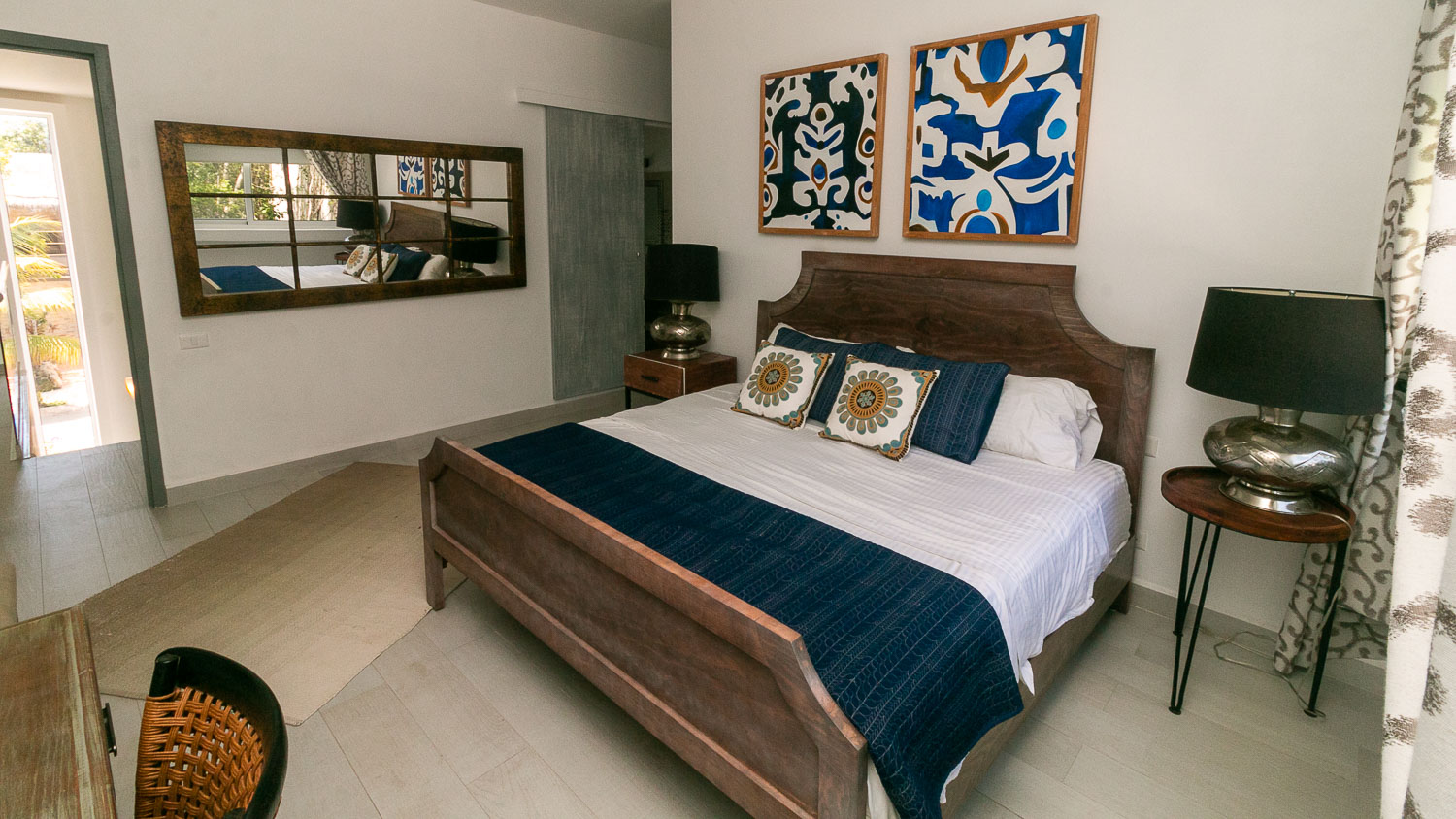 4-bedroom-house-in-a-gated-community-in-Tulum-Bedroom
