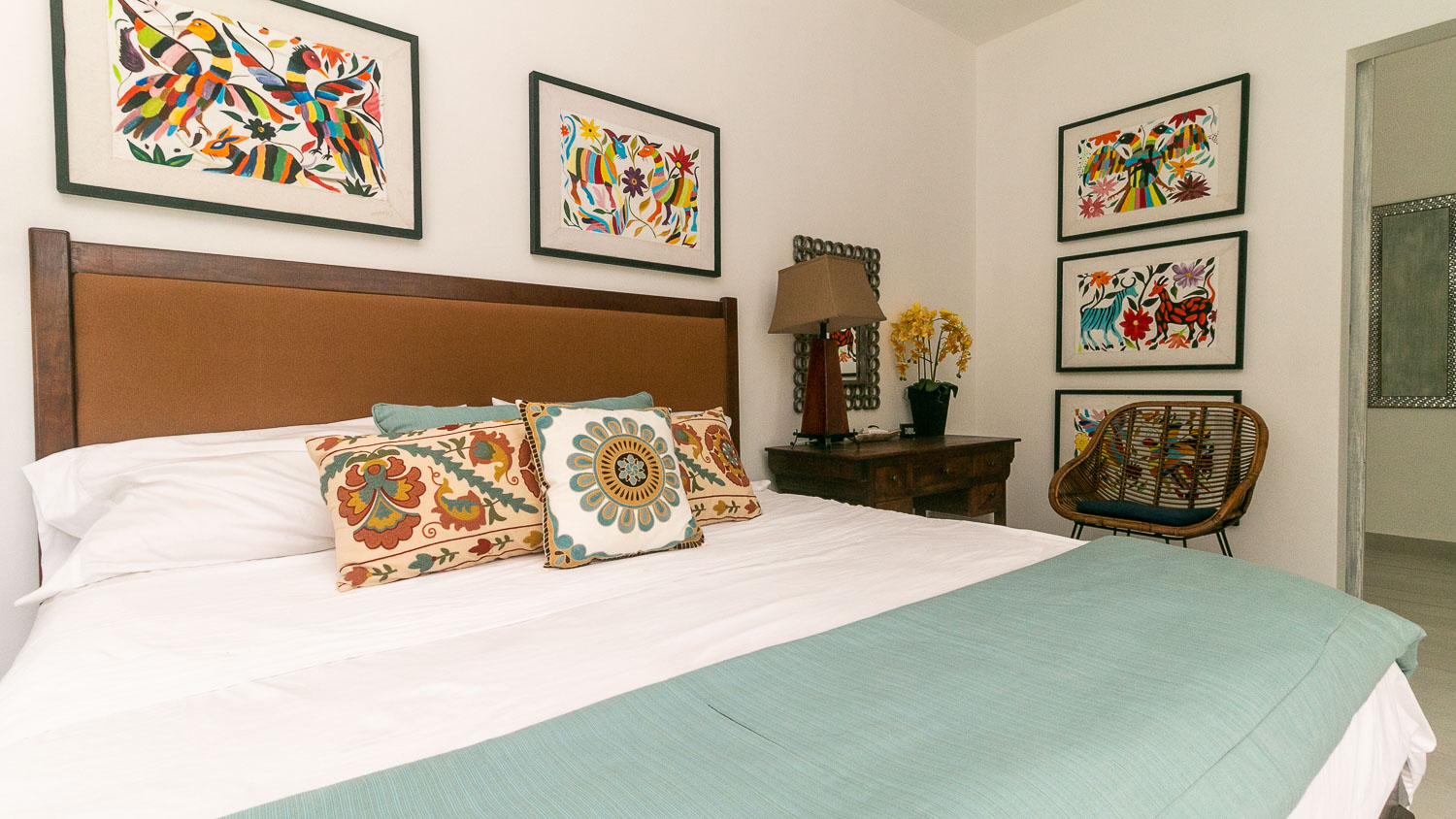 4-bedroom-house-in-a-gated-community-in-Tulum-MasterBedroom