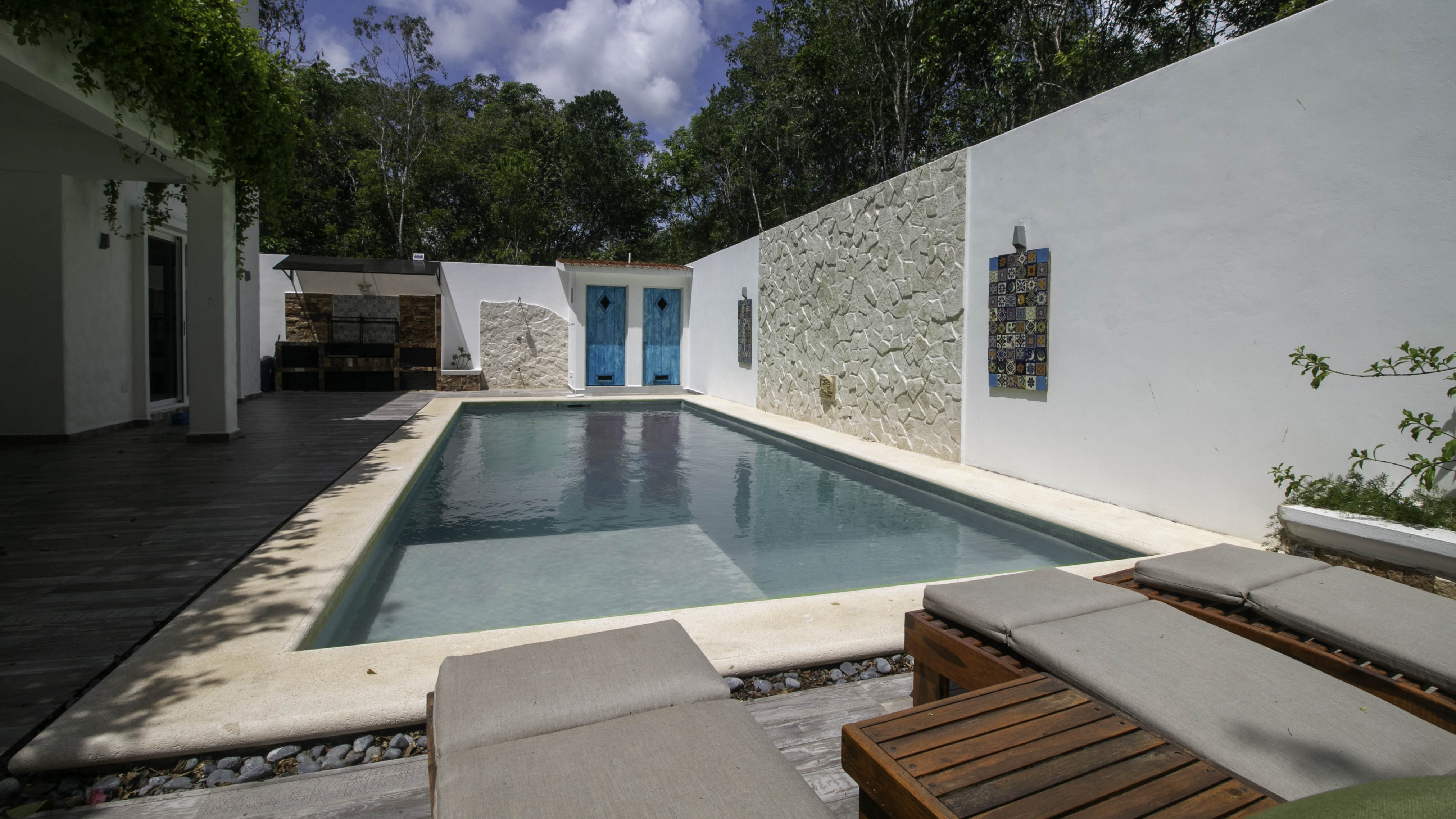 4-bedroom-house-in-a-gated-community-in-Tulum-Pool
