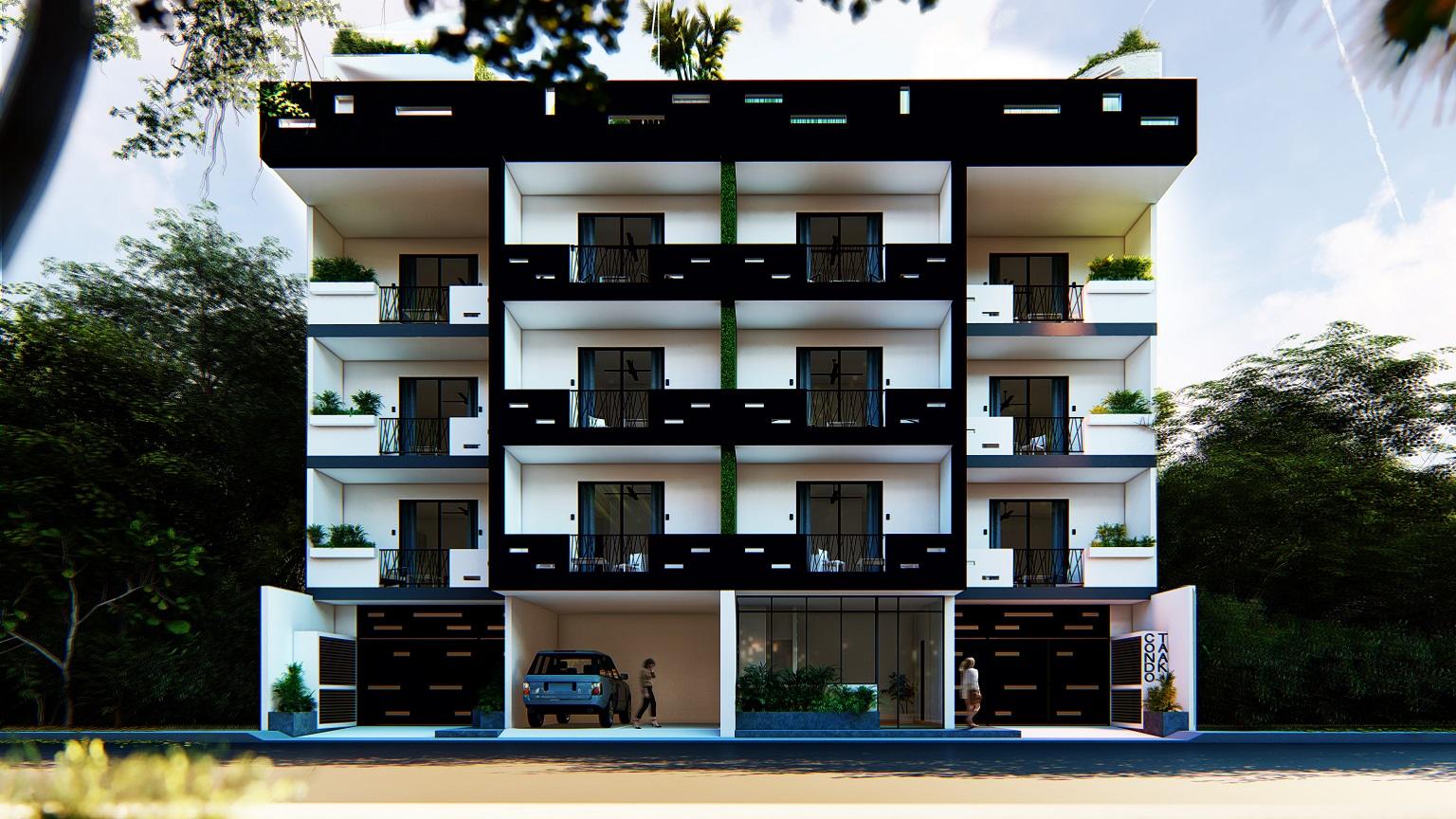 21505 Stunning 1 bedroom condo near Centro  - Condo