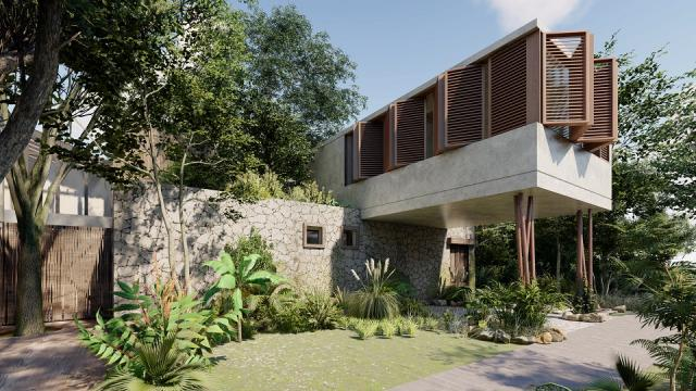 Beautiful 2 bedroom house in Tulum - Last Unit - property for sale