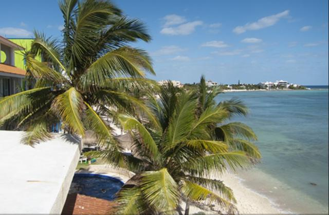 Ocean view penthouse in Akumal property for sale