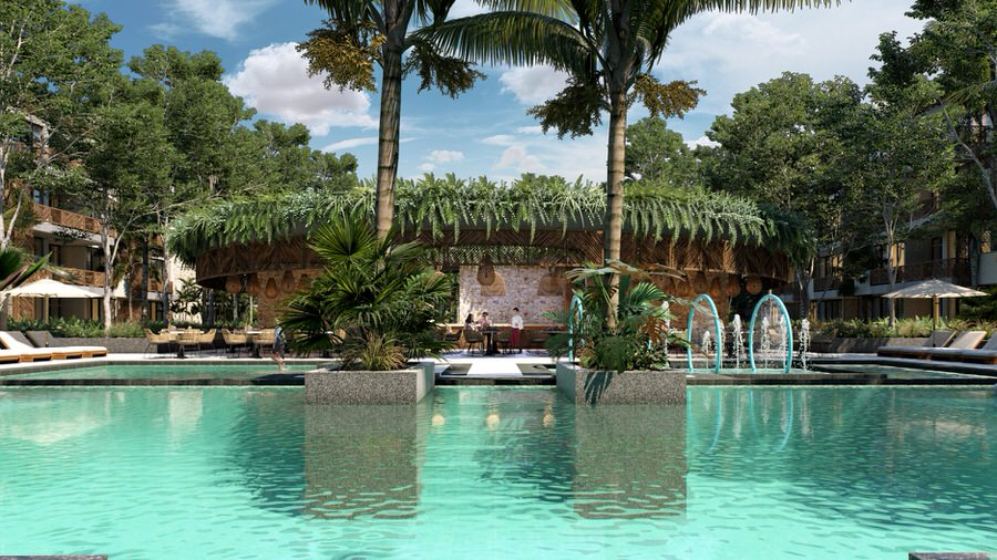 21597 Exclusive 2 bedroom luxury penthouse on Coba Avenue,  - Condo
