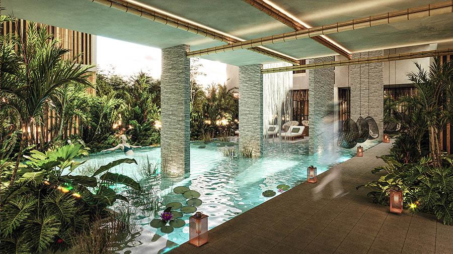 Stunning 1 bedroom condo in Aldea Premium, Tulum