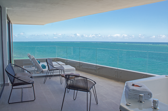 Stunning 3 bedroom beachfront condo with a lock off system  property for sale
