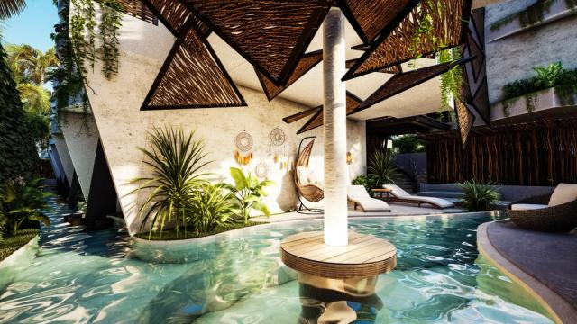Beautiful studio in an excellent area of Tulum property for sale