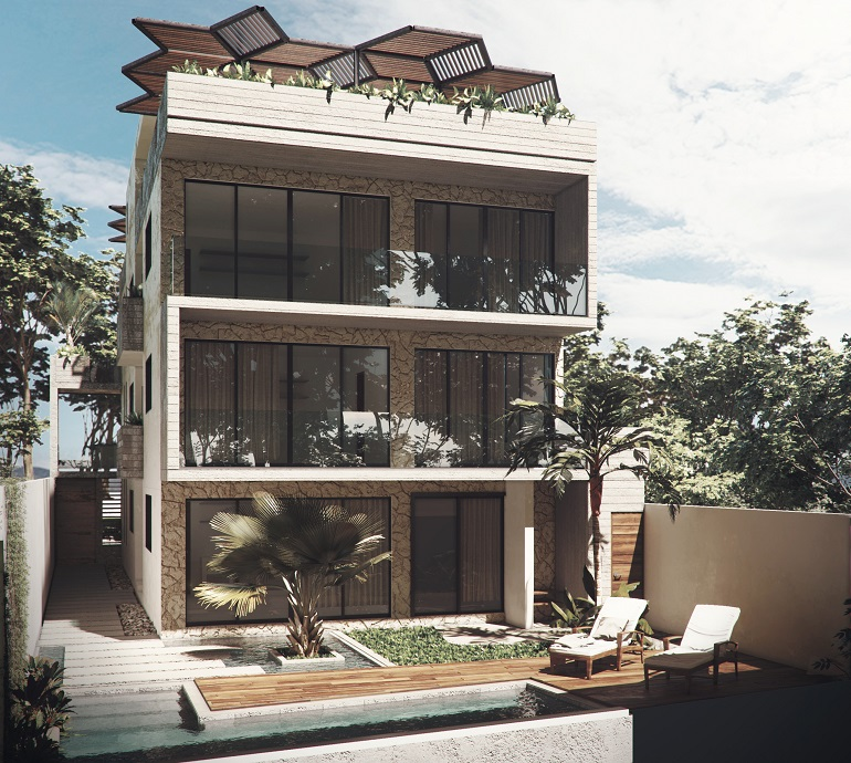 Beautiful studio with modern architecture