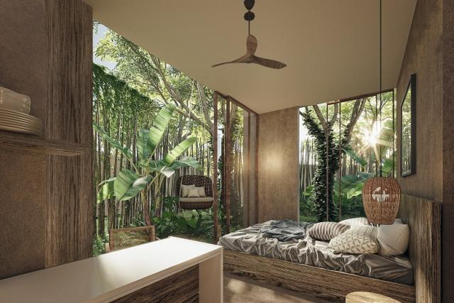 Privacy and contact with nature - Luxury studios property for sale