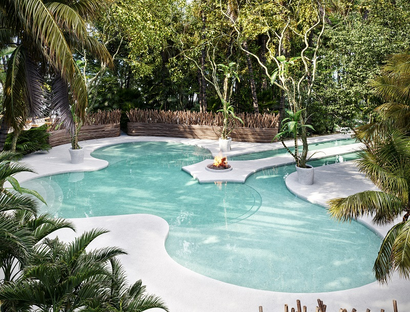 Lots close to the beach with incredible amenities