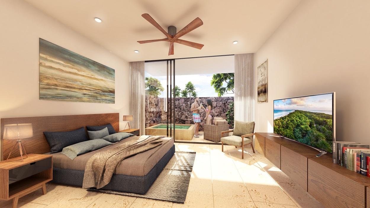 Ample 1 bedroom plus jacuzzi