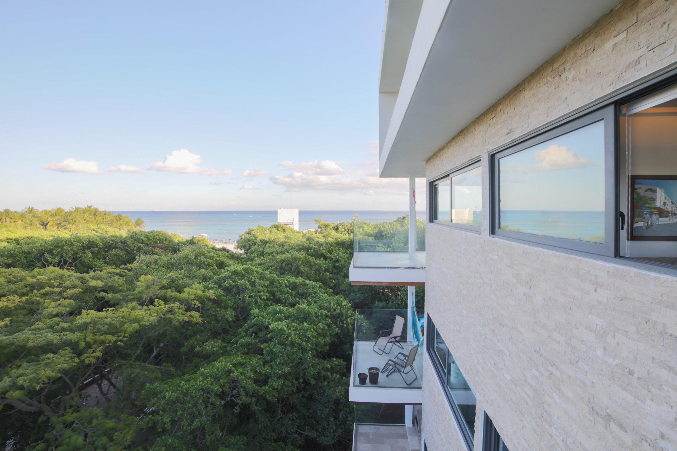 2 bedroom condo ocean and jungle view