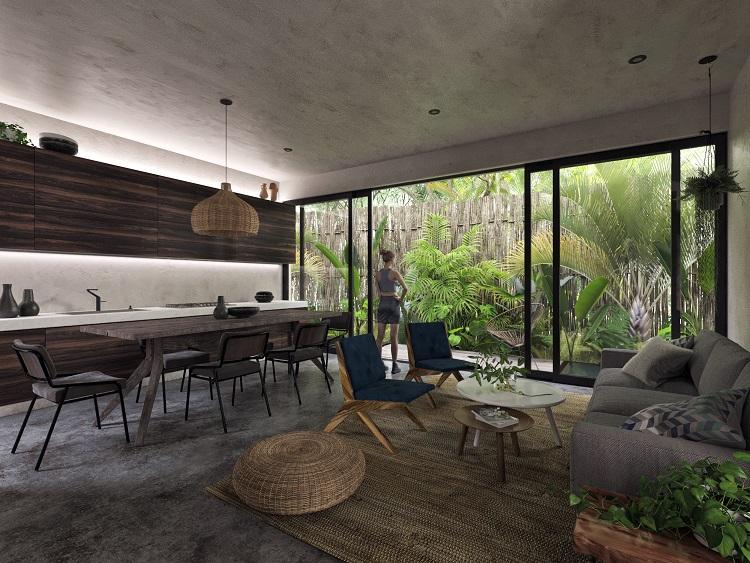 2 bedroom condo in luxurious development