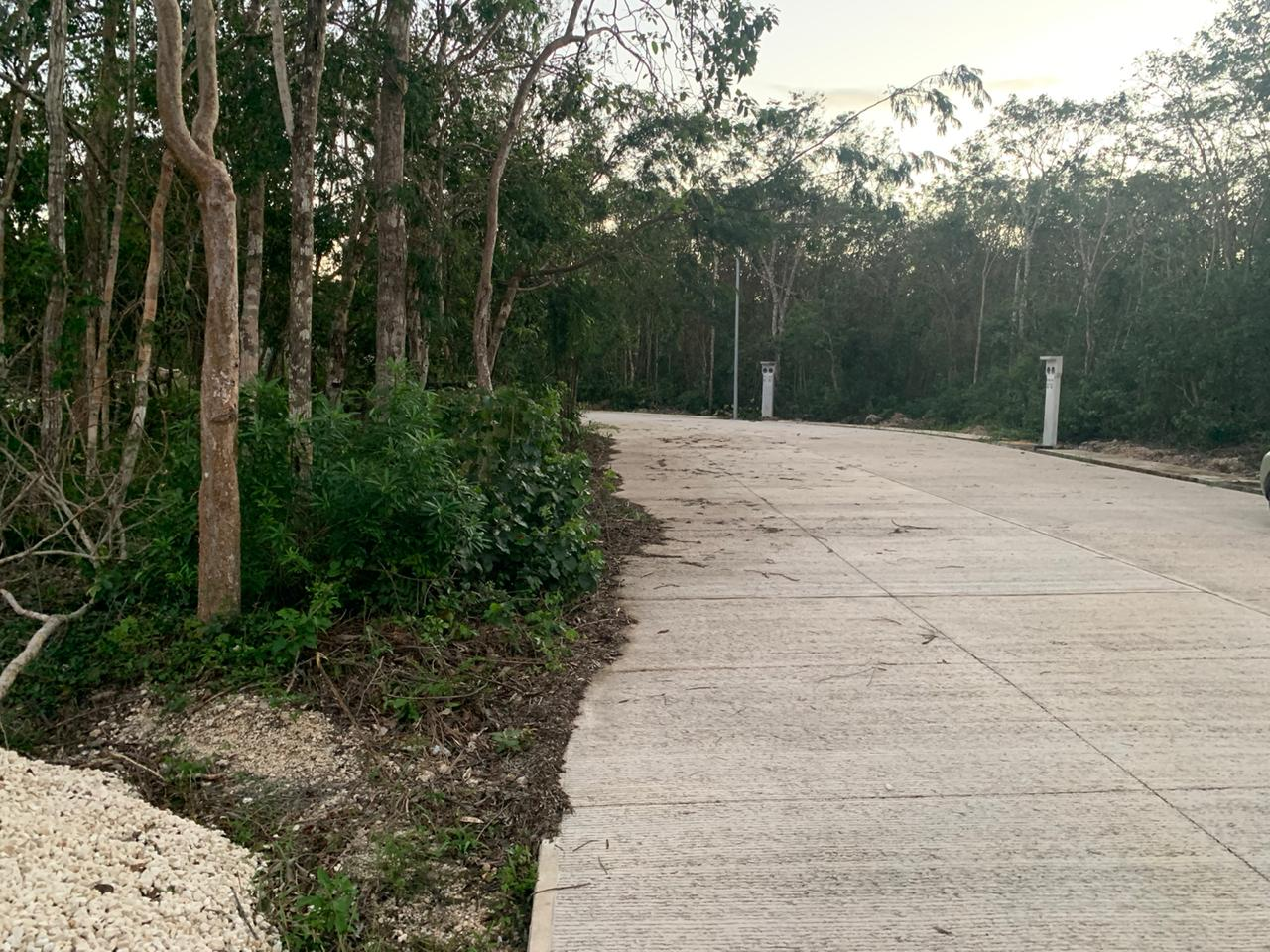 Lot for sale 10 minutes from downtown Playa del Carmen