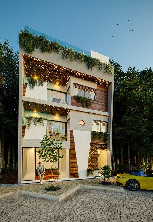 1 bedroom condo in Aldea Zama.
