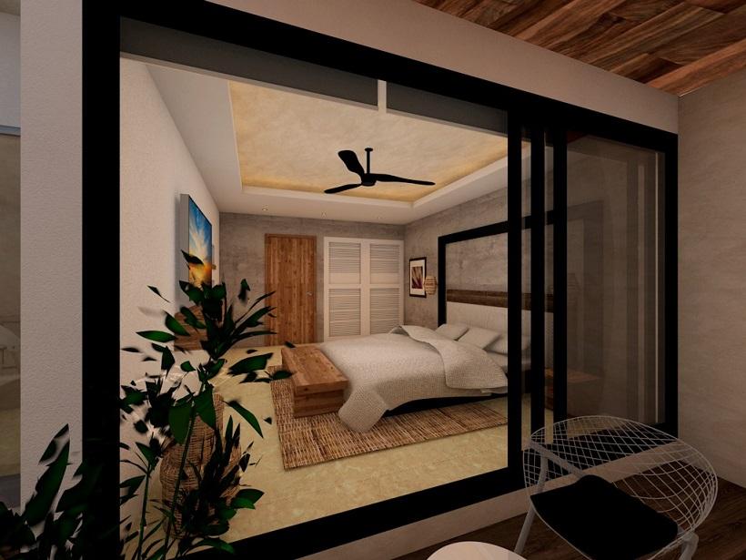 2 bedroom condo in Aldea Zama.