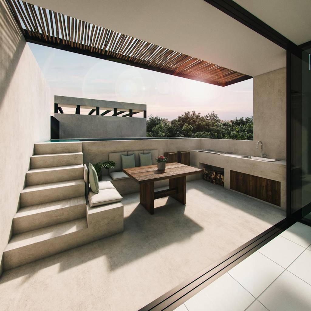 Loft penthoouse in exclusive development