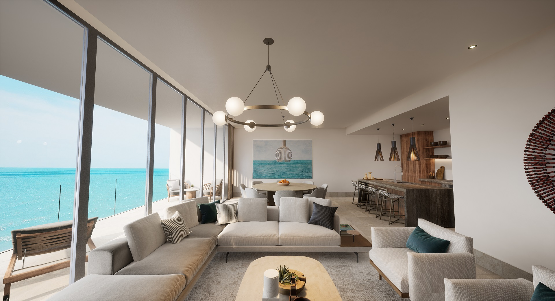 3-Bedroom Beachfront Penthouse