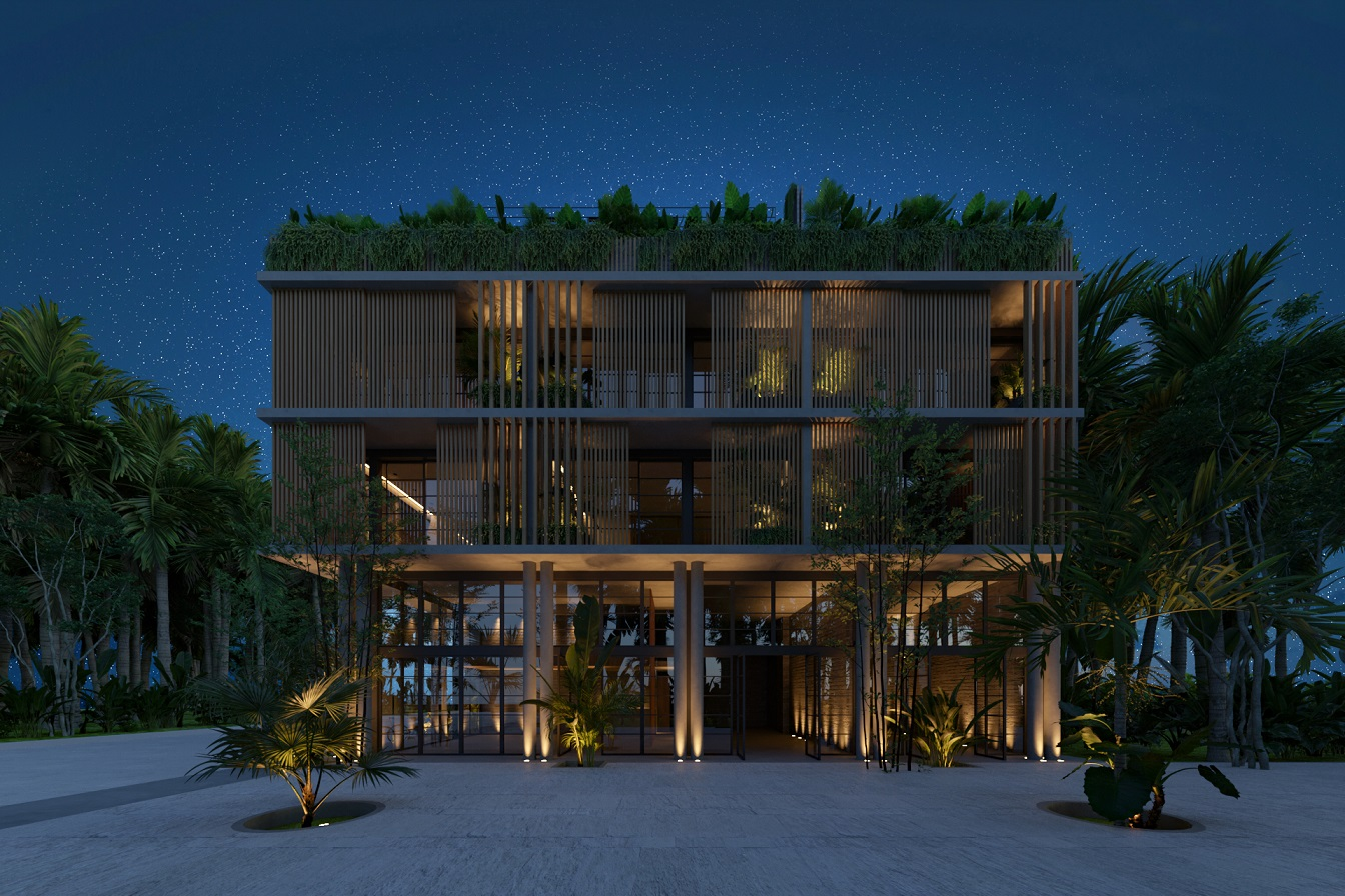 Exclusive loft immerse in the jungle