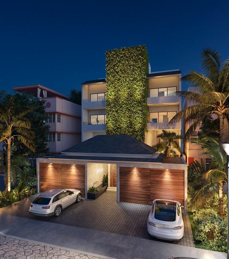 3 bedroom beachfront condo in Puerto Aventuras