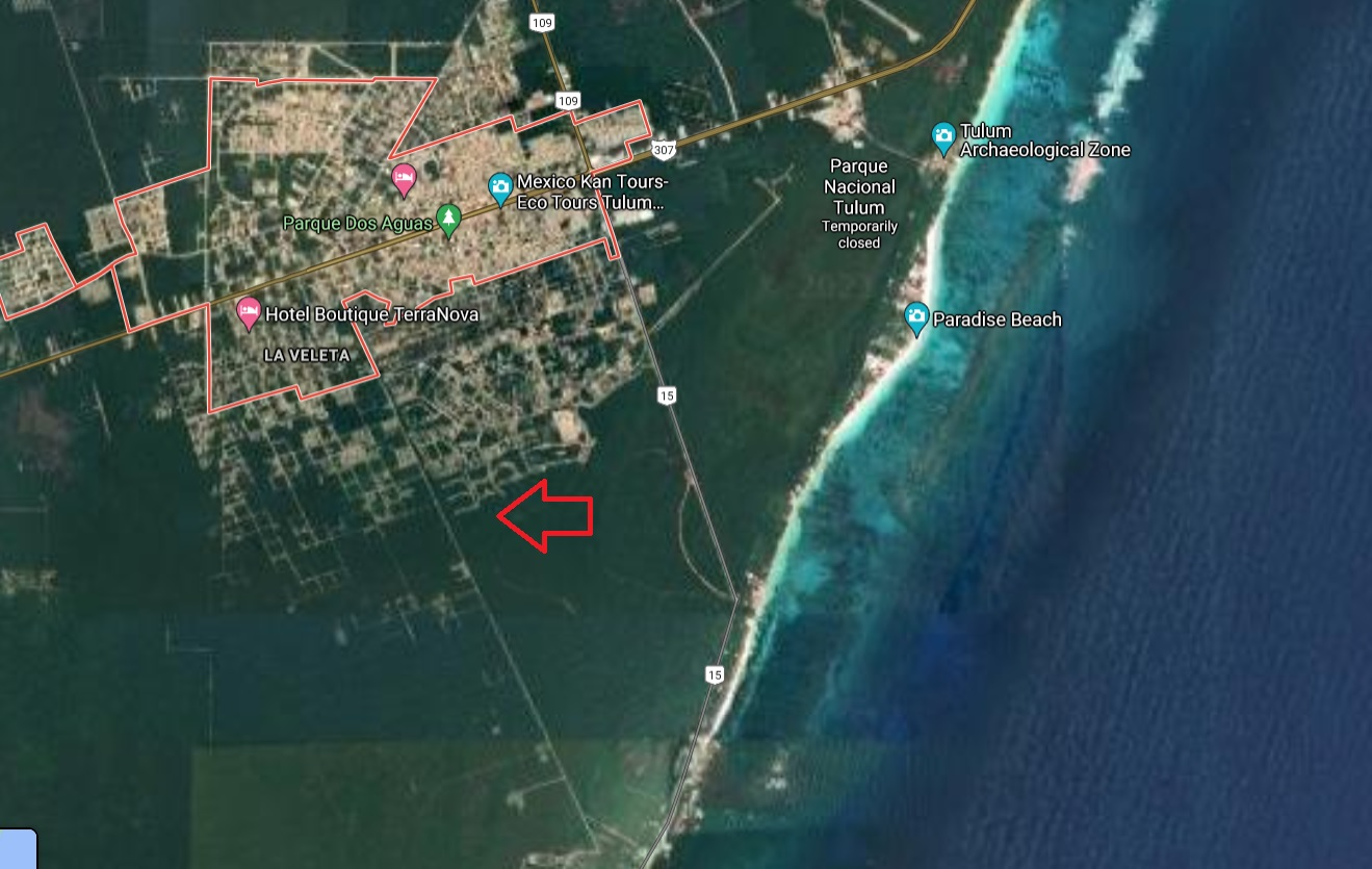Exclusive lots close to the beach