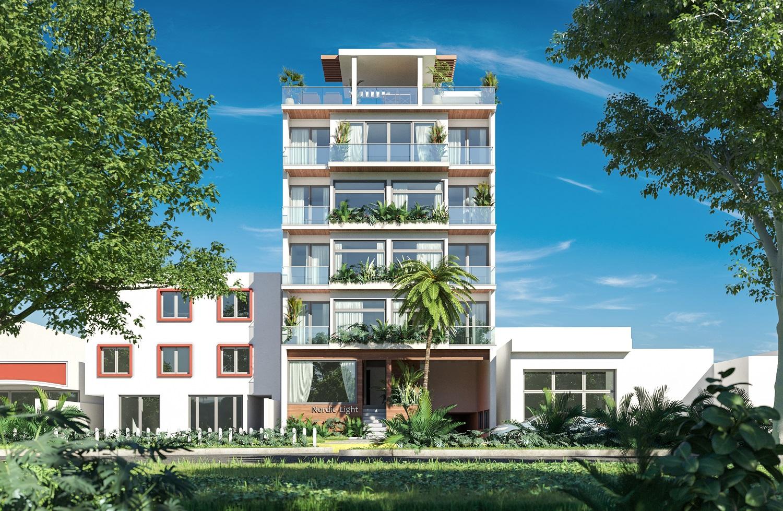 One bedroom penthouse 5 blocks from Quinta Avenida