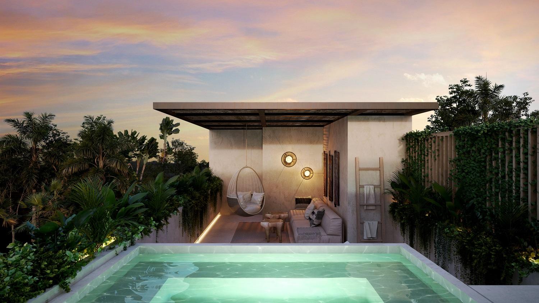 Ample penthouse in great development