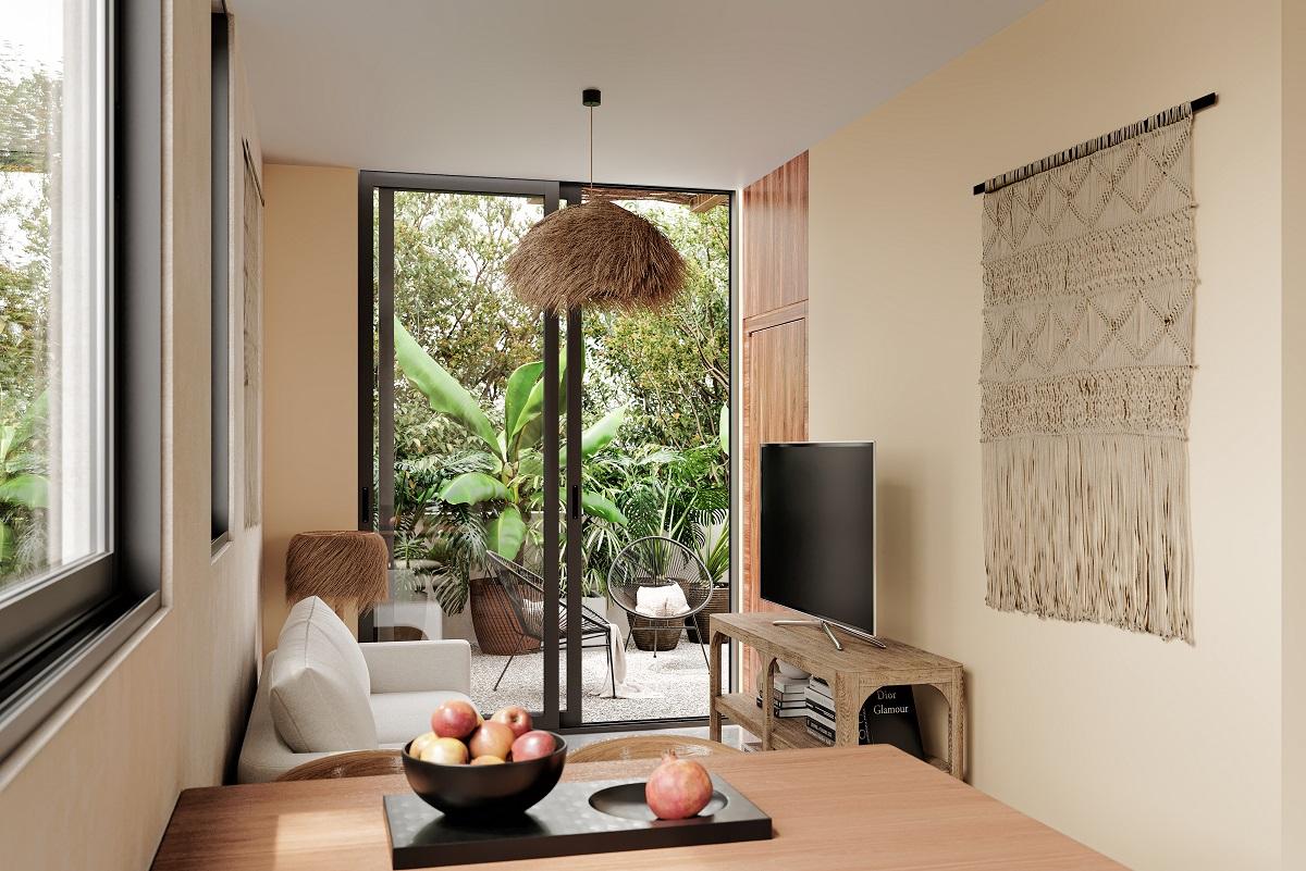 2 bedroom condo in Villas Tulum
