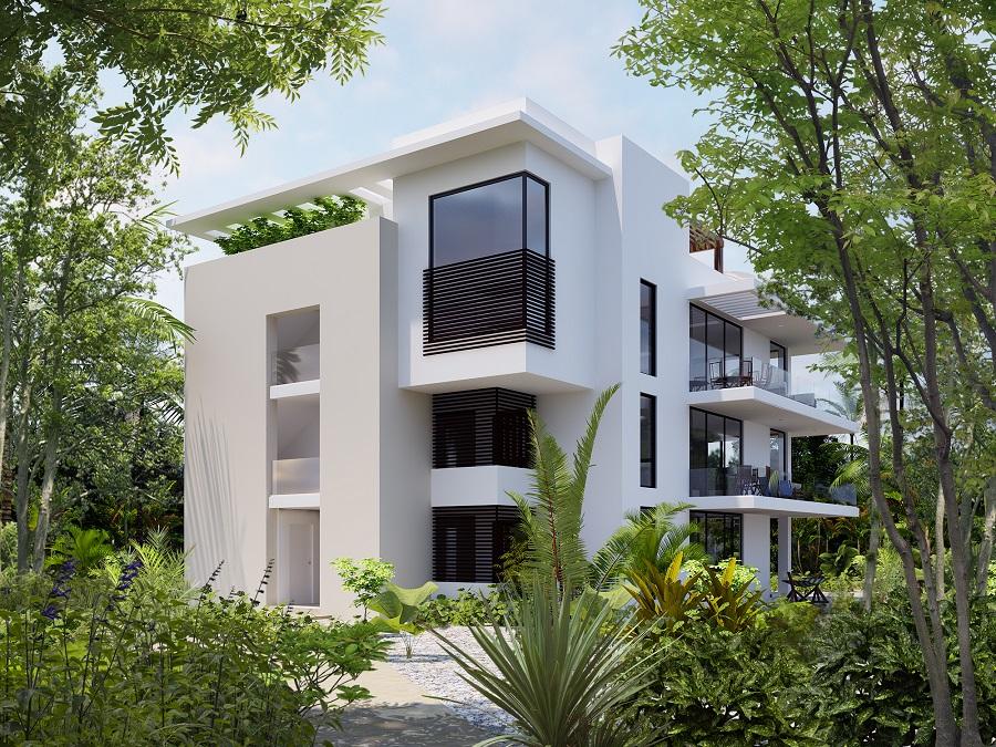 3 bedroom Condo in Cozumel island.