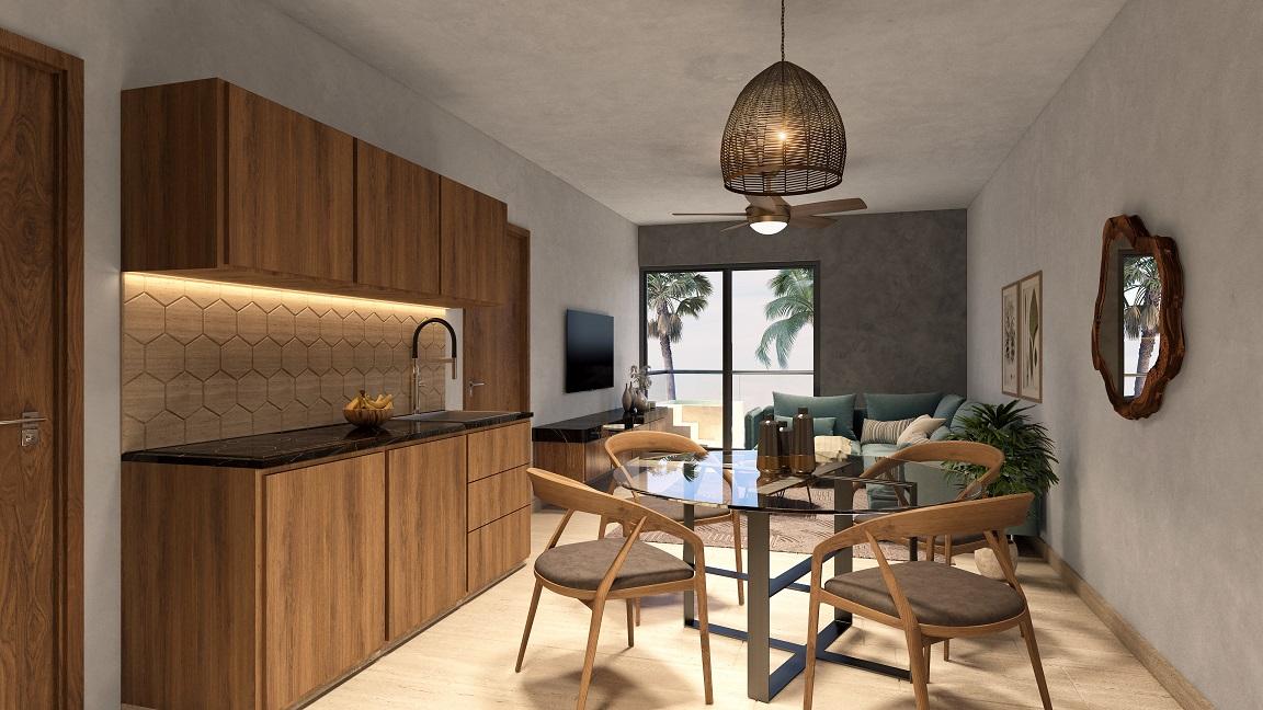 2 bedroom condo for sale in Playa del Carmen