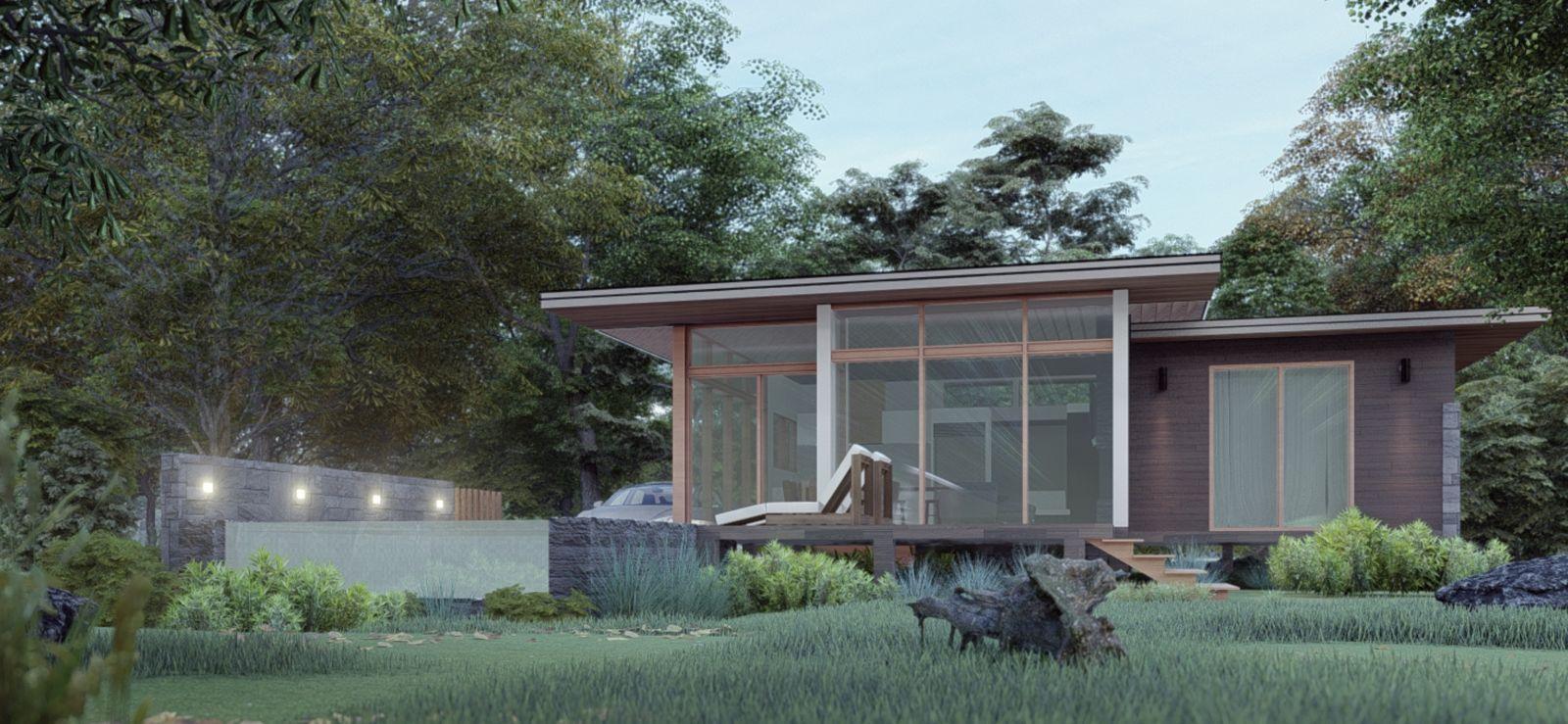 3 bedroom house in sustainable development