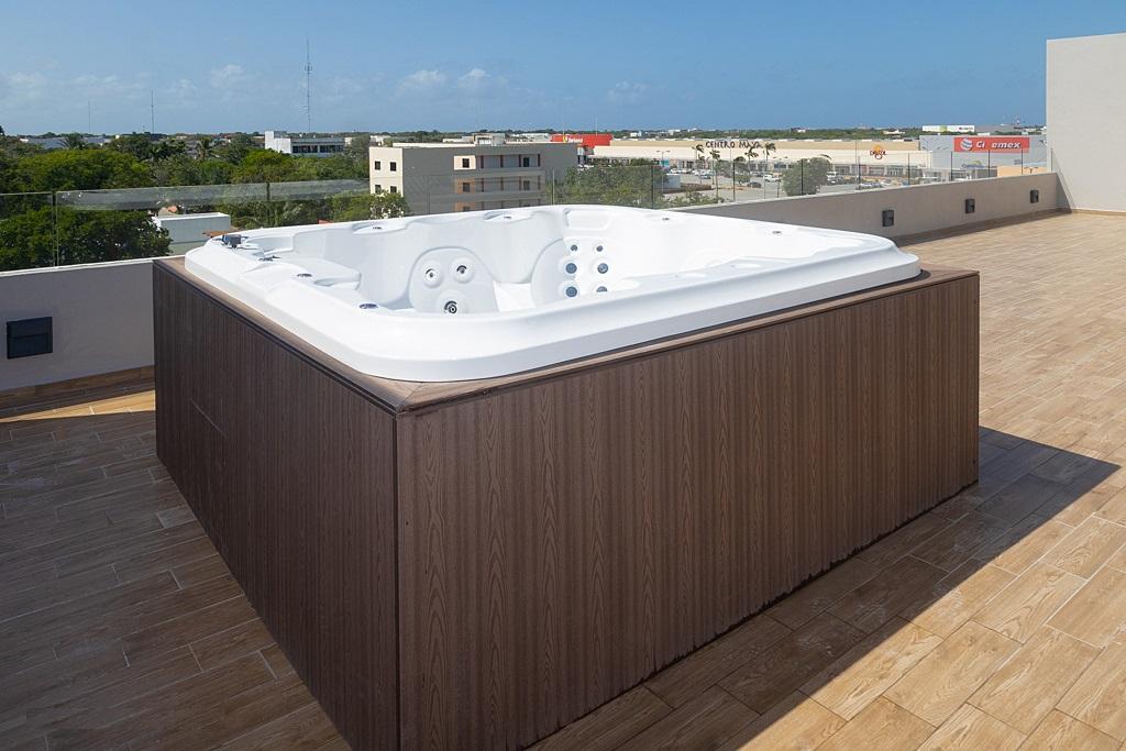 2 bedroom penthouse in Playa del Carmen