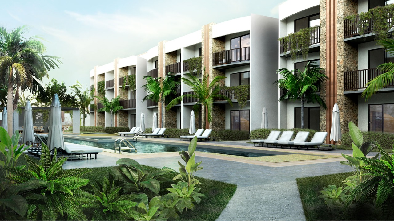 Two bedroom condo one block from the Federal Highway