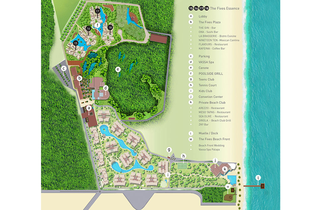 The Fives Essence!.. an amazing and relaxing area!. Master Plan